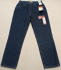 Riders by Lee Indigo Womens Relaxed Fit Straight Leg Blue Jeans, Sz 10 M (31X31)
