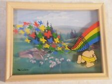 Vintage Ziggy Framed Wall Art Tom Wilson Ziggy Catching Rainbow Free Ship