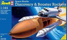 Revell 04736, Space Shuttle Discovery + Booster Rockets, Bausatz 1:144, Neu