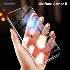 For Ulefone Armor 8 Ultra Thin Clear And Soft Transparent/Black TPU Case Cover