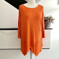 PHASE EIGHT Orange Jumper Batwing Size 14 | Smart Casual Warm