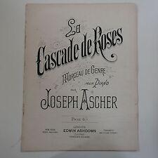 ASSOLO di pianoforte Joseph vene la cascata DE ROSE, 9pp