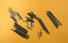 "Meccano - Approximately 60 Shorter Rods.12 ea of 1""1 1/2"" 2"" 3 1/2"" & 4"" Fair"