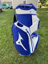 New listing Mizuno Golf 2020 Pro Golf Cart Bag 14-Way Top Staff Blue W/ Rain Hood