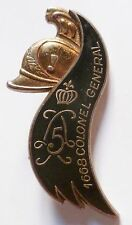 5° Régiment de Dragons Cavalerie insigne Delsart ORIGINAL French Cavalry badge