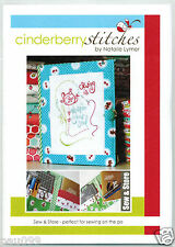 Cinderberry Stitches Sew & Store Pattern by Natalie Lymer