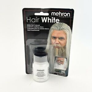 Hair White old age stage TV elderly effects Mehron coloring makeup performance