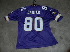 9f4b25bce Vintage 1998 Minnesota Vikings Cris Carter #80 Replica Football Jersey 54  2XL