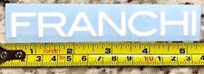 """Franchi Shotguns Sticker DIE CUT Decal 5"""" Tactical White Firearms Guns XO"""