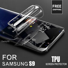 For SAMSUNG Galaxy S9 TPU Screen Protector FILM FULL COVER - CLEAR