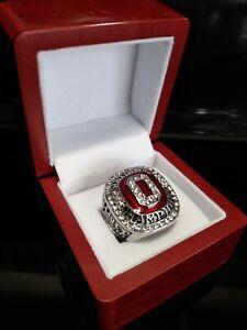 2014 Ohio State University Ring & Wooden Display Box NCAA Championship BUCKEYES