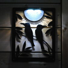 Solar Powered Bright Light of Birds for Garden fence, wall, post, shed, fence