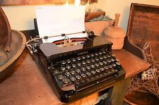 Rare Antique 1929 LC Smith Corona Silent Typewriter Case Working Excellent Cond