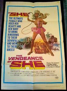 The Vengeance of She 1968 Vintage 1-Sheet Poster FF Olinka Berova