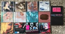13 X Madonna CD DVD Lot Rare Limited Edition Music Ray Of Light Confessions GHV2