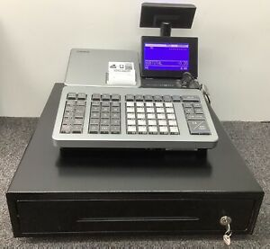 Casio SR-S500 MD-SR Retail Cash Register with Bluetooth And Scanner Free P&P