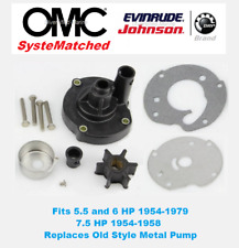 Evinrude Johnson 5.5 6 7.5 HP Water Pump Kit 763758 389228 BRP OMC SysteMatched