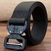 Outdoor Sport Heavy Duty Rigger Webbing Military Tactical Belt with Metal Buckle