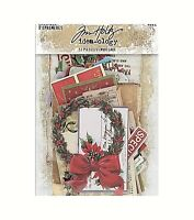 Christmas Noel Ephemera Tim Holtz 51 pieces idea-ology Die Cuts 2019
