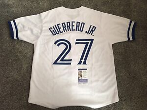 VLADIMIR GUERRERO JR SIGNED  AUTO JERSEY TORONTO BLUE JAYS JSA AUTHENTICATED 🔥