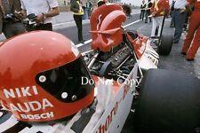 Niki Lauda BRM P160E Belgian Grand Prix 1973 Photograph 2
