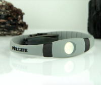 Authentic Pur life Negative Ion Bracelet EXTREME Pro Gray black Purlife BALANCE