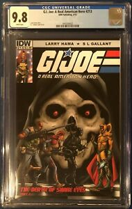 G.I Joe: A Real American Hero #213 CGC 9.8 NM/M White Pages 2015 Gallant Cover