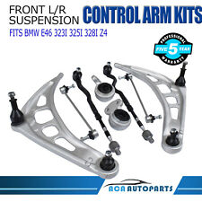 Fit BMW Front Control Arm Bushing Tie Rod Sway Bar Link Lt & Rt Kit E46 3 Series