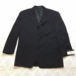Veneto Couture Donald J. Trump Collection Mens Black Suit Jacket 42S 36W