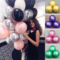 "12"" 50pcs Colorful Latex Bachelorette Balloon Pearl Wedding Birthday Party"