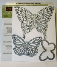 Stampin Up BUTTERLIES Framelits Dies NEW Sizzix Bigshot
