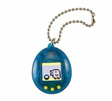 Bandai Tamagotchi Chibi New * Transparent Blue * 20th Anniversary Digital Pet