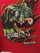 Jurassic Park - Red Kids T-shirt - L (7) - Beware of Attitude