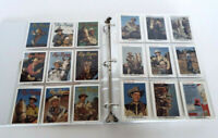 Vintage Roy Rogers Dale Evans Official Card Collection 3 Ring Binder Notebook B