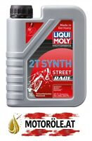 1l Liqui Moly Motorbike 2T Synth Street Race vollsynthetisches Motoröl 1 Liter
