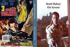 Brett Halsey On Screen Signed New photobook Mario Bava Lucio Fulci