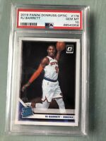 RJ BARRETT RC 2019-20 DONRUSS OPTIC #178 KNICKS ROOKIE PSA 10 GEM MINT