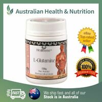 HEALTHWISE L-GLUTAMINE 150GM PHARMACEUTICAL GRADE + FREE SAME DAY SHIPPING