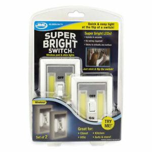 JML A000582 Super Bright LED Light Switch Magnetic - 2 Pieces