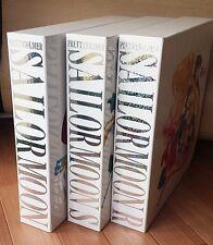 Sailor Moon, R, S 3 LD-Box set +2 Movies +Super S 1 total 36 Laserdiscs complete