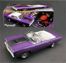 1:18 GMP 1970 Plymouth Road Runner Convertible 440 Six paquet pourpre