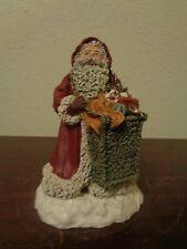 "June Mckenna 1989 Santa Christmas Delight 6 1/2"" Limited Edition 1268/7500"