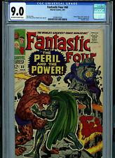 Fantastic Four #60 CGC 9.0 1967 Silver Age Marvel Comic Amricons K27B12