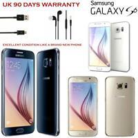 Samsung Galaxy S6 G920 32GB (Unlocked) Smartphone Sim Free Excellent Condition
