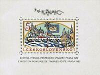CZECHOSLOVAKIA 1962, World Exhibition of Postage Stamps PRAGA 1962 (pof. A 1268)