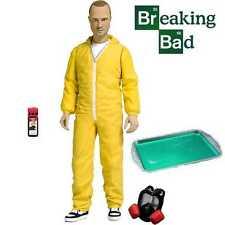 """Breaking Bad Jesse Pinkman Figura En Amarillo 6"""" traje de materiales peligrosos-Nuevo"""