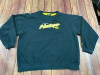 Vintage Iowa Hawkeyes Men's Black Starter Sweatshirt - XL