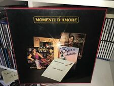 STEPHEN SCHLAKS MOMENTI D'AMORE BOX 5 LP + INSERTO BABY RECORDS 1980 ITALY