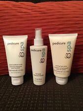 New BeautiControl Pedicure Spa Spray, Scrub and Salve Set! Full size 5 oz. each