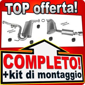Scarico Completo per ALFA ROMEO GTV e SPIDER 1.8 2.0 e 3.0 Marmitta